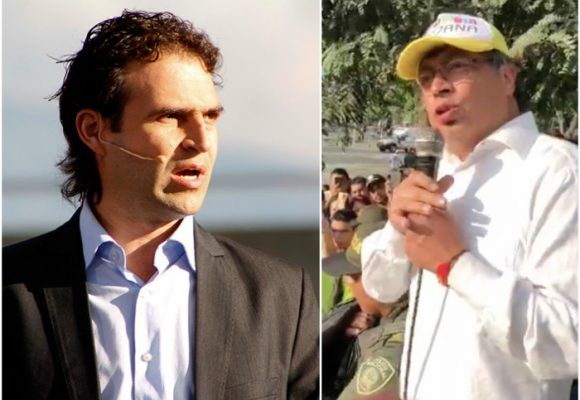 Enfrentón entre Federico Gutiérrez y Gustavo Petro por manifestación en Medellín