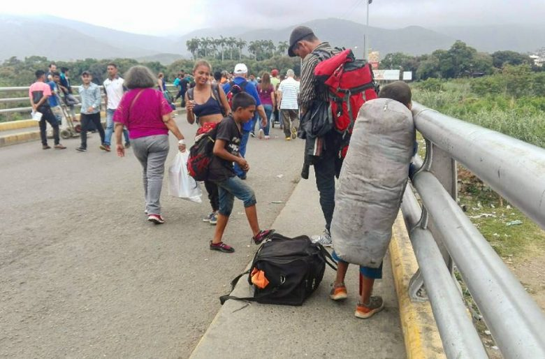 La travesía de los venezolanos por Colombia