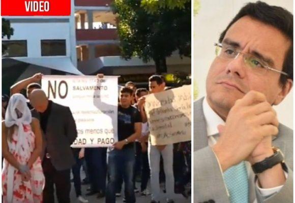 VIDEO: Furia estudiantil en Barranquilla. ¿Dónde está el rector de la Autónoma?