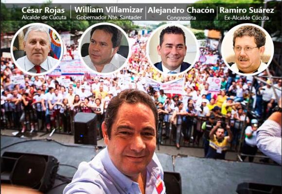 Cóctel ganador de Vargas Lleras en Cúcuta