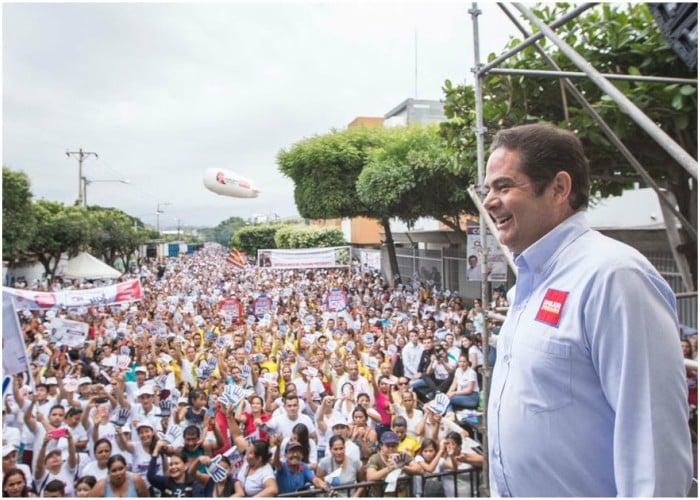 Las 30.000 personas que acompañaron a Vargas Lleras en Cúcuta