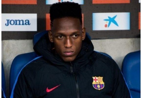 Si no pusieron a jugar a Yerry Mina, es porque no lo quieren en el Barça