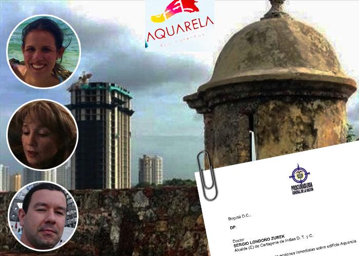 Los constructores paisas que tendrán que demoler la Torre Aquarela