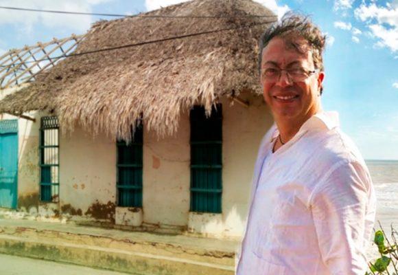 La casa donde nació Petro en Ciénaga de Oro, Córdoba