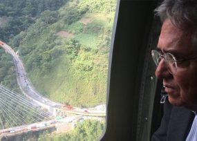Coviandes la concesionaria de Sarmiento Angulo, a pagar por la catástrofe del puente Chirajara
