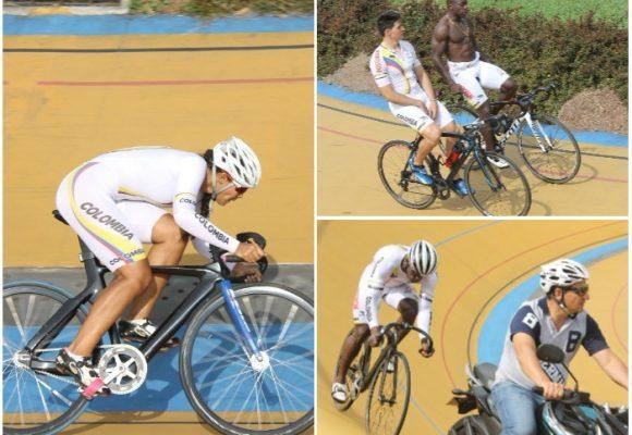 Selección colombiana de ciclismo de pista rumbo al mundial