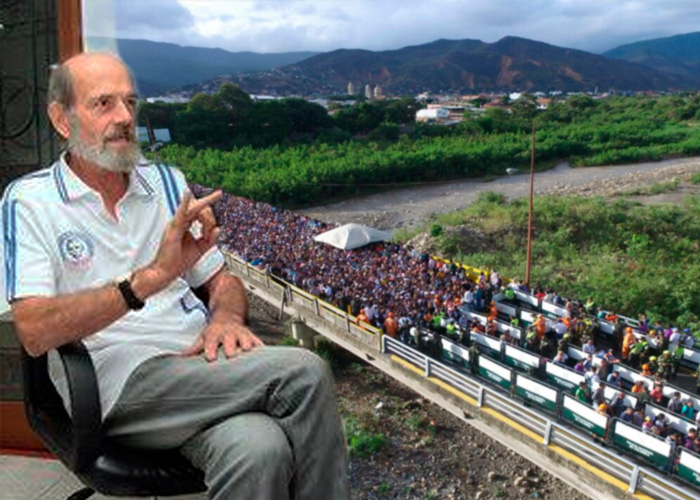 Un cura italiano, la mano amiga de los venezolanos que llegan a Cúcuta