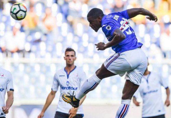El asombroso gol de Duván Zapata en Champions
