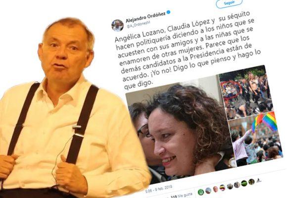 Ordóñez empieza su guerra sucia electoral contra los gays