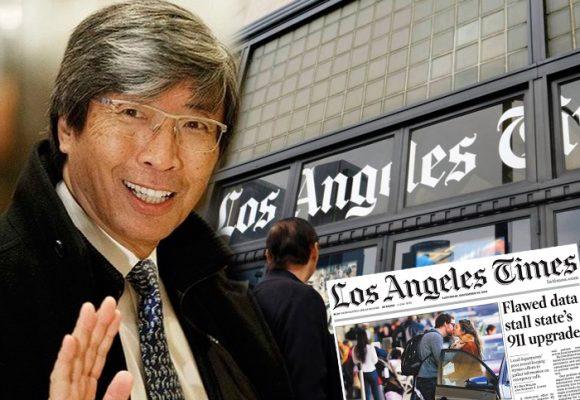 Un médico billonario salió al rescate de Los Angeles Times