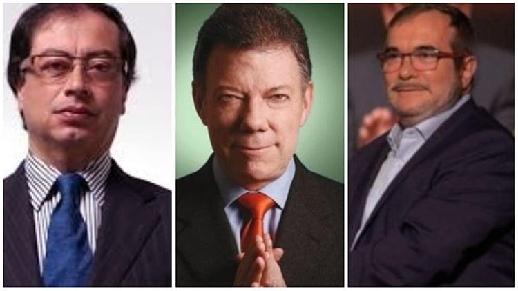 Trio letal: Santos, Farc, Petro