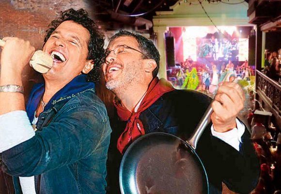 Regresa el negocio más play de Carlos Vives en Bogotá