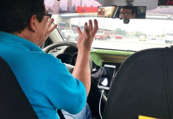 El taxista…