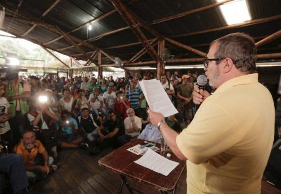 """¡Por un Colombia diferente, Timochenko presidente!"""