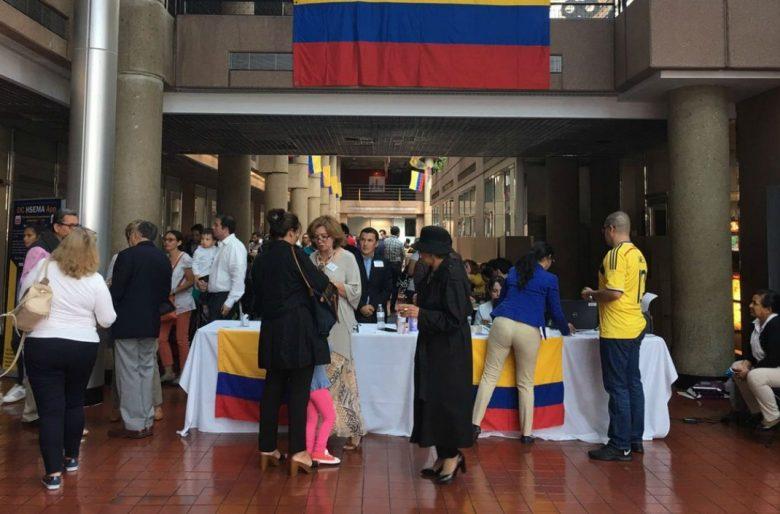 Los colombianos en el exterior también deciden