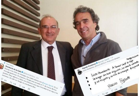 El café entre Fajardo y De la Calle que puede reventar la Coalición Colombia