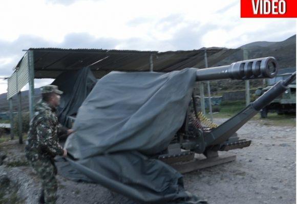 El supercañón del Ejército que puso a temblar a las Farc