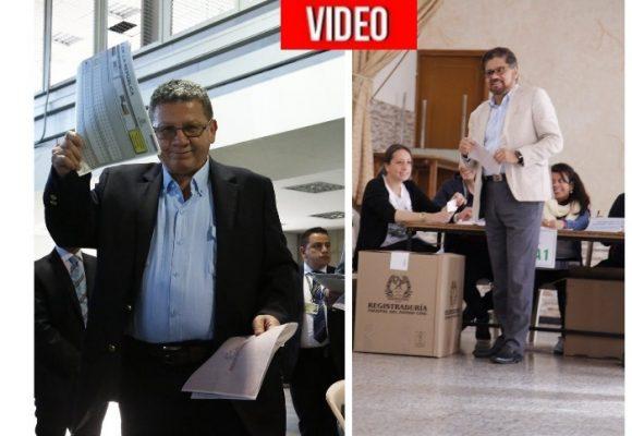 Los excomandantes de las Farc estrenan voto