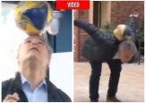 VIDEO: Iván Duque demostró que es un crack en el fútbol