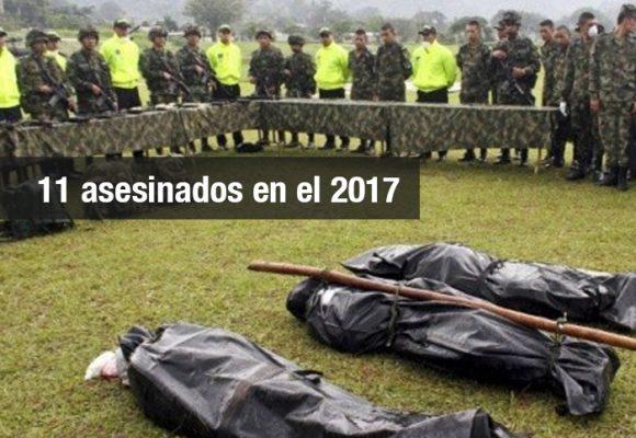 Ejército y Policía siguen con los falsos positivos