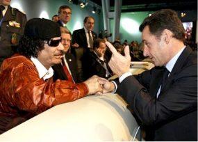 Los 5 millones de euros que Muamar el Gadafi habría entregado a Sarkozy
