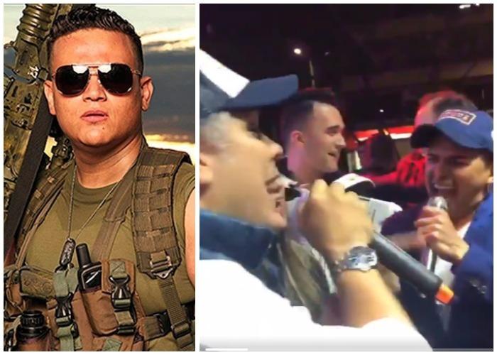 Silvestre Dangond y Jorge Celedón, los uribistas del vallenato