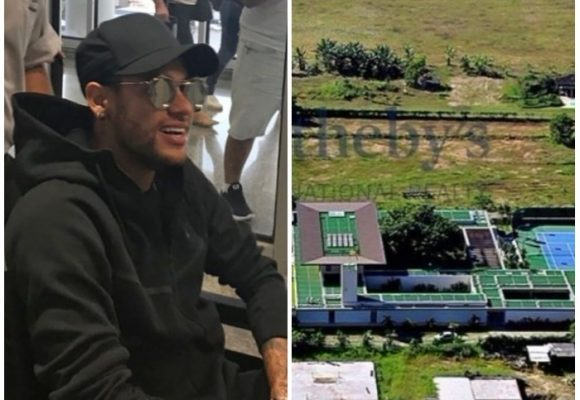La lujosa mansión donde Neymar se recupera y reza para llegar a Rusia 2018