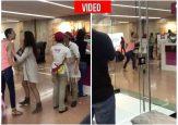 En Unicentro señora paisa insulta y golpea a vendedora de Popsy