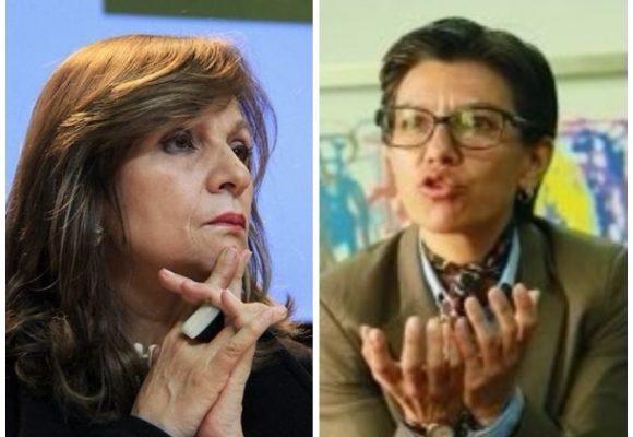 Claudia López se despacha contra Ángela María Robledo