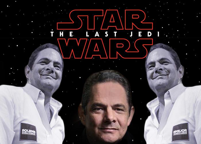 Vargas Lleras ahora es el héroe de Star Wars