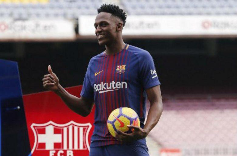 Qué vergüenza lo de Yerry Mina en el Barcelona