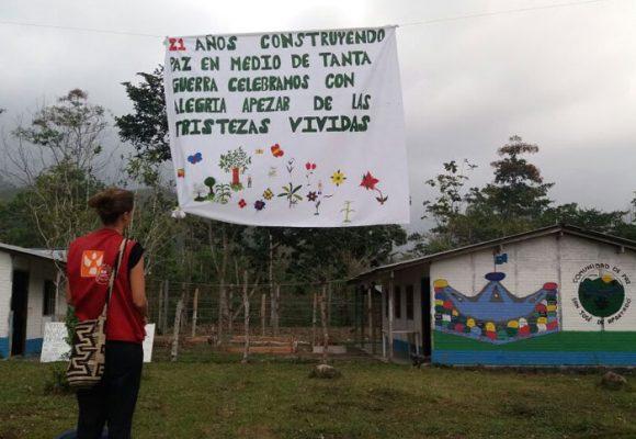 Comunidad de Paz de San José de Apartadó, 21 años defendiendo la vida y el territorio