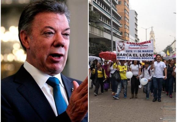 """""""Demuestre usted que la confianza de los colombianos se debe ver recompensada"""""""