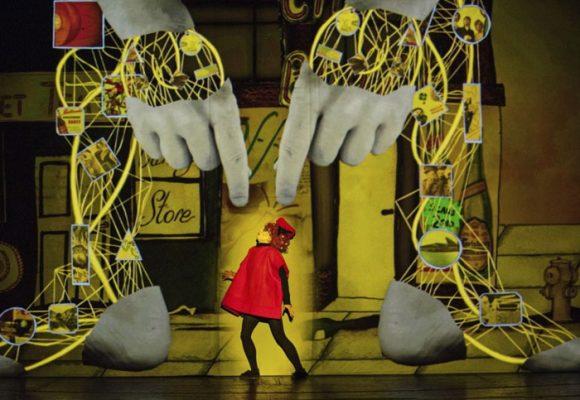 'Golem', una acertada combinación de pantomima, animación y música