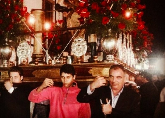 Tres poderosos, con los santos a cuestas en la Semana Santa de Popayán
