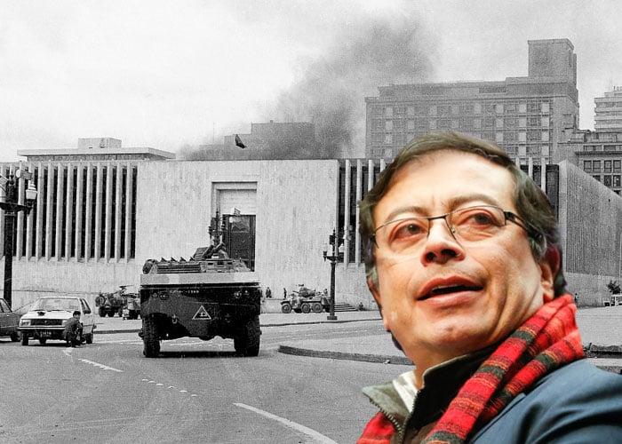 Petro no incendió el Palacio de Justicia