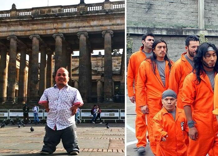 Alexis Calvo, el enano de Pandillas Guerra y Paz, quiere llegar al Senado