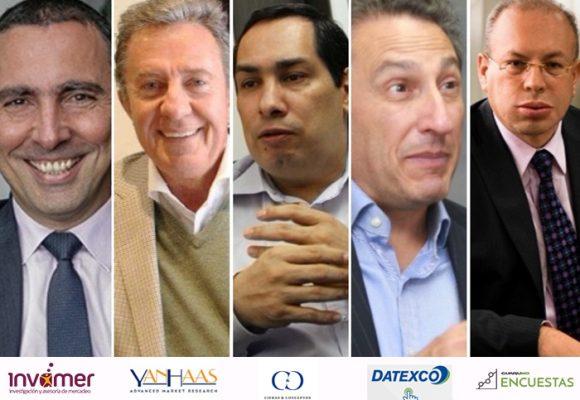 ¿Quiénes están detrás de las encuestas en Colombia?