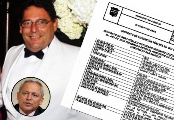 La mermelada santista que el senador Hernán Andrade volvió millonarios contratos