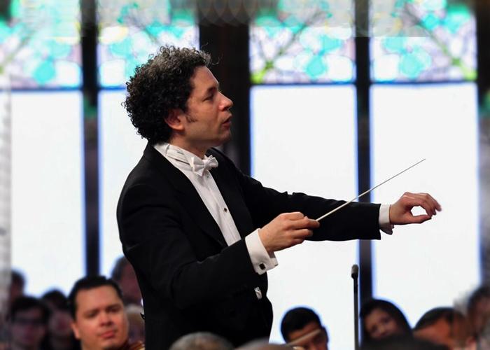 Dudamel y la Filarmónica de Viena en la gran gala del Teatro Mayor