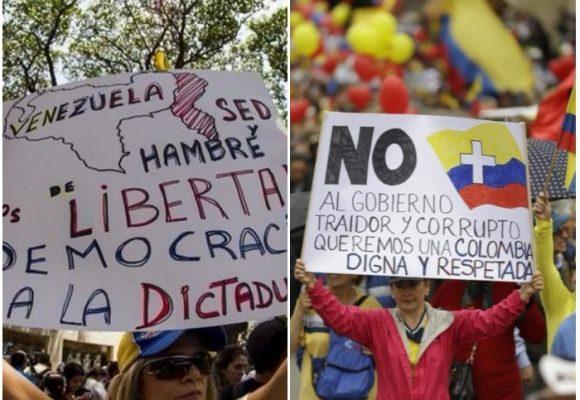 ¿Convertir a Colombia al castrochavismo o al vargasuribismo a Venezuela ?