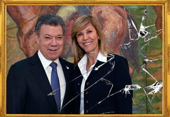 Juan Manuel Santos y Dilian Francisca Toro, ¿se acaba la luna de miel?