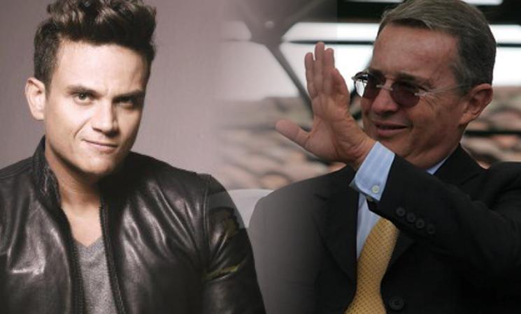 Alvaro Uribe le agradece a Silvestre Dangond su apoyo