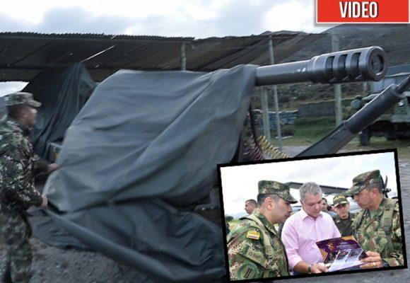 El supercañón que el Ejército desempolvó para usar en el Catatumbo