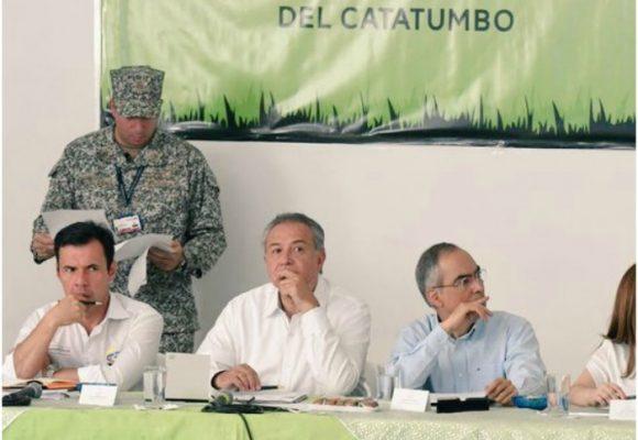 El vice Óscar Naranjo no logró llevar tranquilidad al Catatumbo
