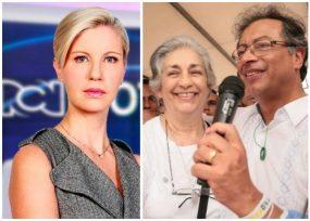 La mamá de Claudia Gurisatti resultó fan de Petro: FOTOS