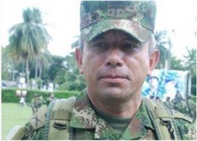 El general detrás de Guacho en la frontera