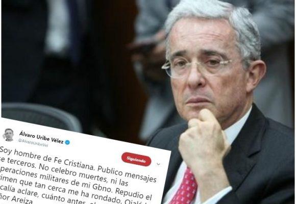Uribe se lava las manos por las duras acusaciones contra el testigo asesinado y el senador Cepeda