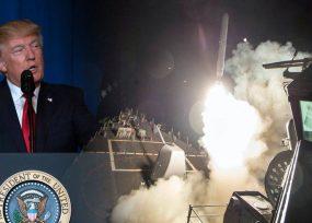 Bombardeo a Siria: un minuto para destruir dos centros de producción de armas químicas