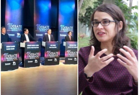 El primer debate presidencial según Carolina Sanín